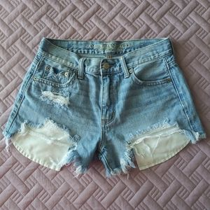 American eagle distressed ripped vintage high rise